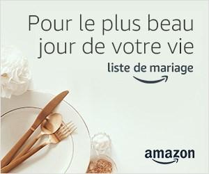 Cadeaux et liste de mariage avec Amazon