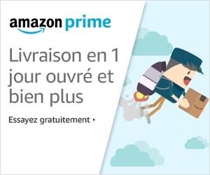 Avec Amazon Prime profitez de tous les avantages de livraison mais aussi de Prime Video et bien d'autres avantages